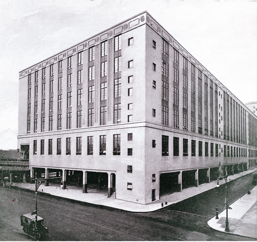 Morgan Parcel Post, 1933. Photo from the West Side Improvement Project Brochure