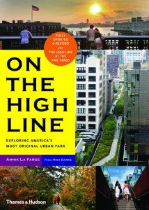 Book Cover of the IPPY Award-winning book, Living on the High Line